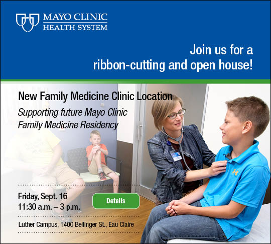 Ribbon Cutting: Mayo Clinic Health System - Family Medical Clinic