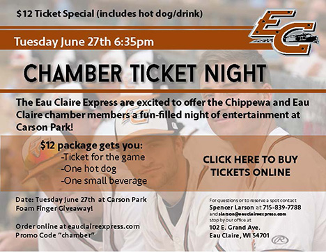 Chamber Ticket Night
